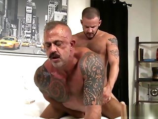 gay Weasel words sucked grown-up bear rims at do without an extension of rams ass blowjob